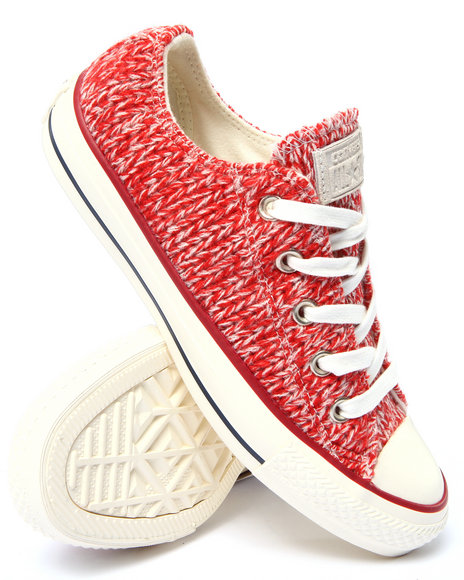 Converse - Women Red Chuck Taylor All Star Sneakers