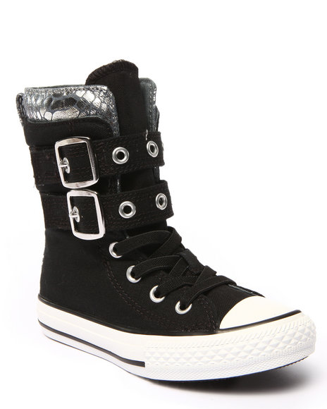 Converse - Girls Black Chuck Taylor All Star Glendale (11-6)