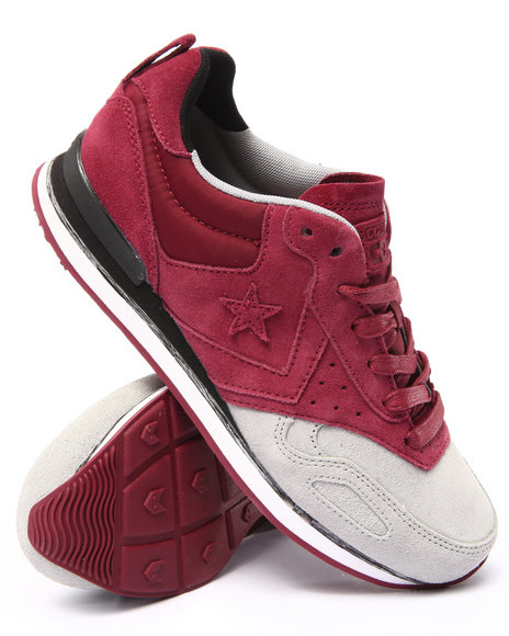 Converse - Men Maroon Limited Edition Malden Racer Sneakers
