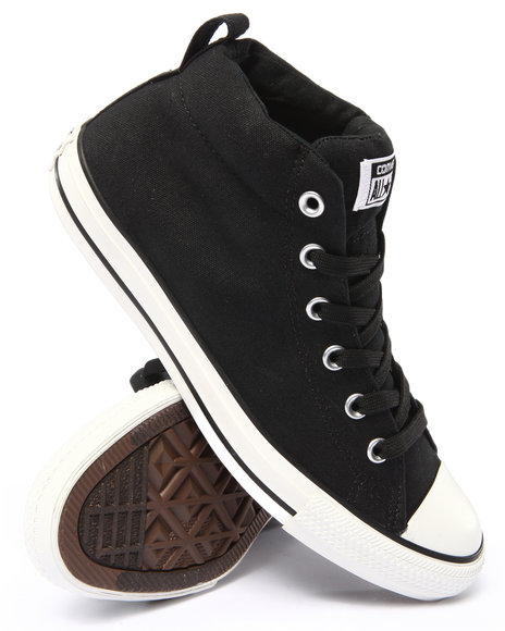 Converse - Men Black Chuck Taylor All Star Street Sneakers