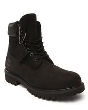 "Footwear - 6"" Black Premium Boots"
