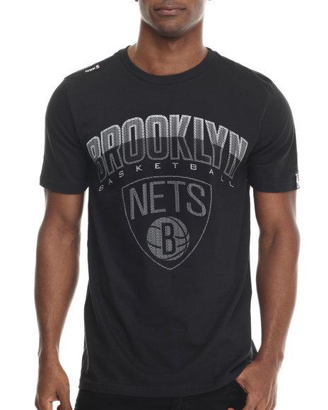 Ur-ID 213316 NBA, MLB, NFL Gear - Men Black Brooklyn Nets Evolve S/S Tee