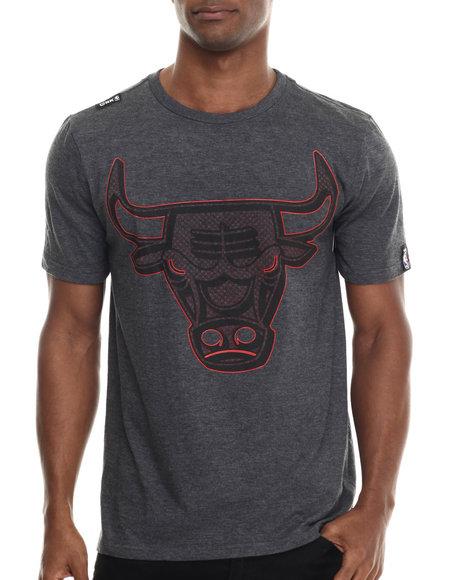 Ur-ID 213328 NBA, MLB, NFL Gear - Men Grey Chicago Bulls Primo 2 Tee
