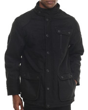 Outerwear - Quilted Long Jacket