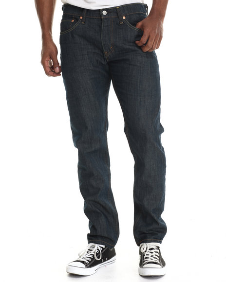 Levi's - Men Dark Wash 508 Slimtaper Fit Rinsed Playa Jean