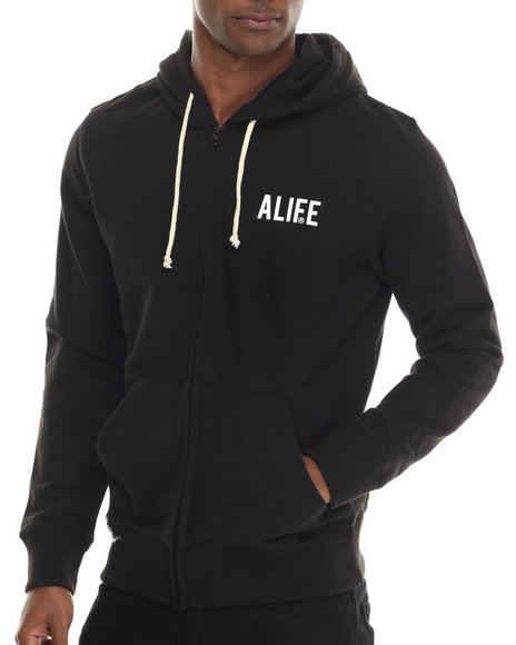 Alife Black Hoodies