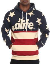 Men - Star Flag Pullover Hoodie