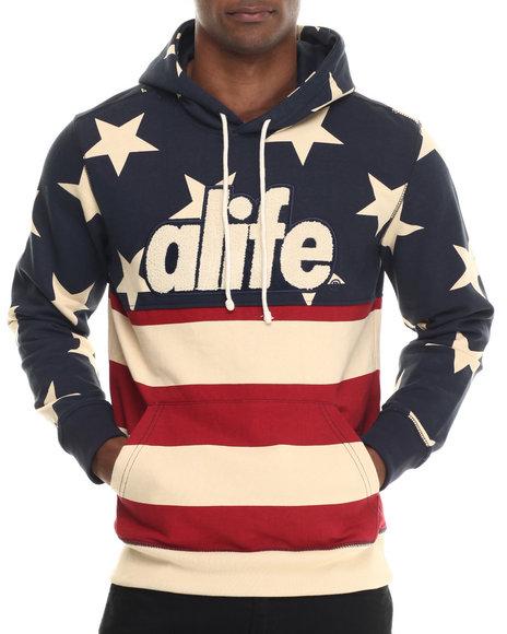 Alife Navy Hoodies