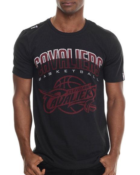 Ur-ID 213311 NBA, MLB, NFL Gear - Men Black Cleveland Cavaliers Evolve S/S Tee