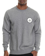 RVCA - Freedom of Death Fleece Crewneck Sweatshirt