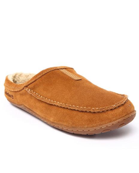 Timberland - Men Tan Kick Around Mule Shoes