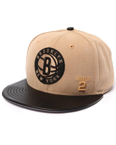 Ur-ID 222962 New Era - Men Cream Brooklyn Nets Garnet #2 Cookies & Cream Edition Custom 950 Snapback Hat