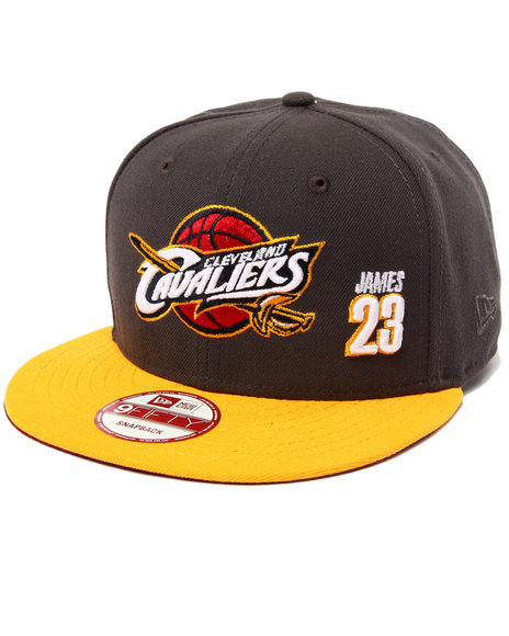 New Era Men Cleveland Cavaliers Lebron #23 Player 950 Snapback Hat Grey - $21.99