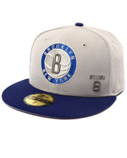 Men - Brooklyn Nets Williams #8 custom 5950 fitted hat (Drjays.com Exclusive)