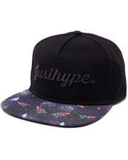 Men - Retro Space Snapback Hat