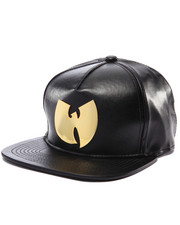 Wu-Tang Limited - Gold Metal W Snapback