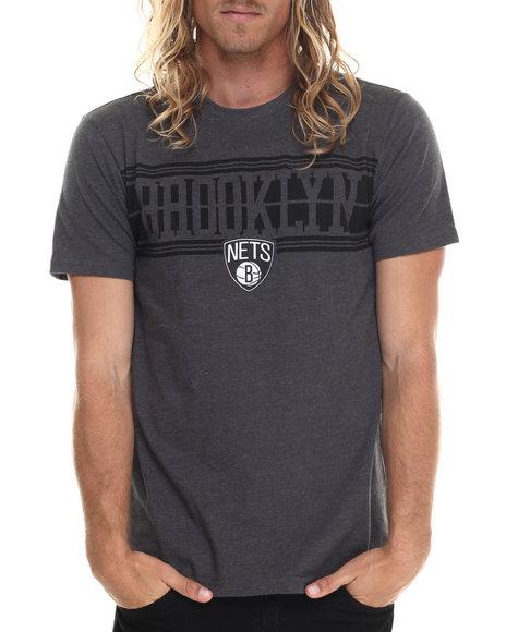 Ur-ID 213422 NBA, MLB, NFL Gear - Men Black Brooklyn Nets 5 Borough S/S Tee