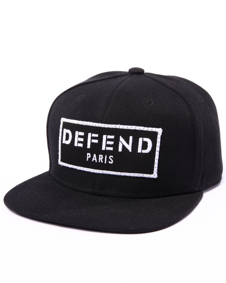 Ur-ID 222967 Defend Paris - Men Black Defend Paris Hat
