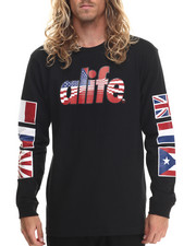 T-Shirts - Infinity Flag L/S Tee