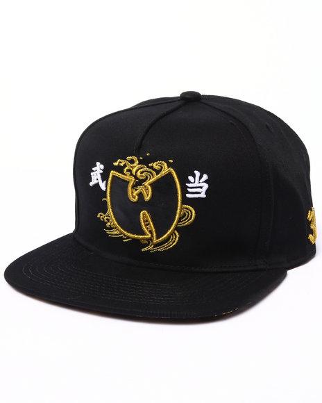 Wu-Tang Limited Men W Wave Snapback Black