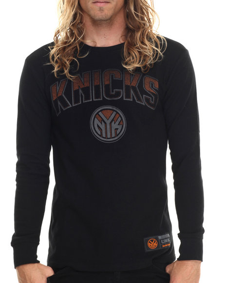Ur-ID 213432 NBA, MLB, NFL Gear - Men Black New York Knicks Core Thermal