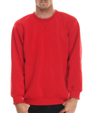 Basic Essentials - Basic Fleece Crewneck Sweatshirt