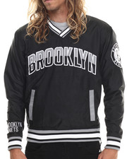 NBA, MLB, NFL Gear - Brooklyn Nets Starter Blowout Pullover Jacket