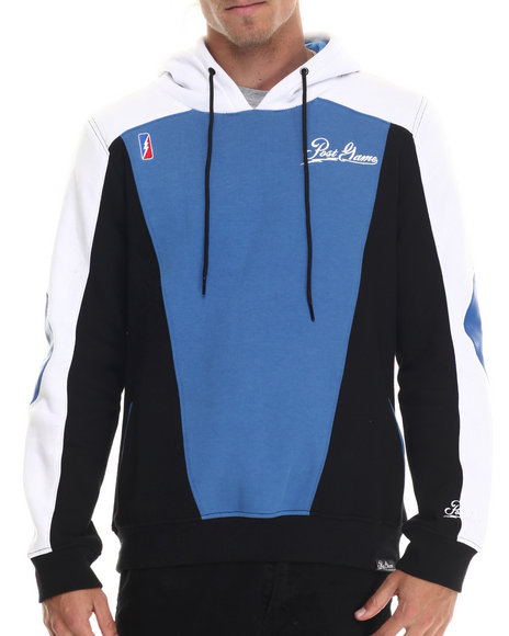 Post Game - Men Blue Post Game 8 - Ball Pullover Hoodie