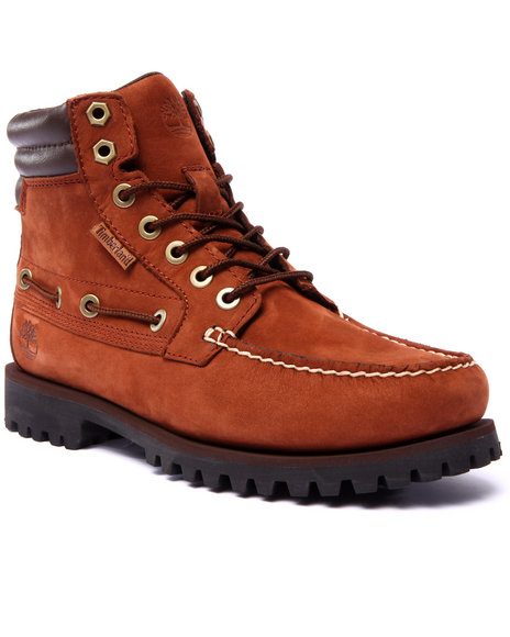 Timberland - Men Brown Oakwell 7 Eye Moc Toe Chukka Boots