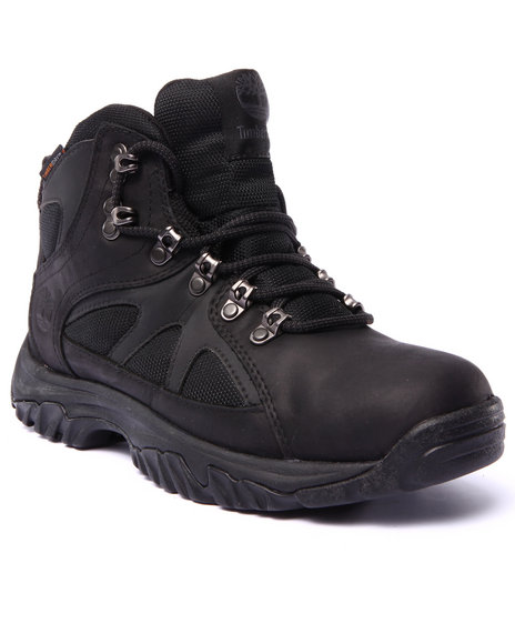 Timberland - Men Black Bridgeton Mid Waterproof Boots