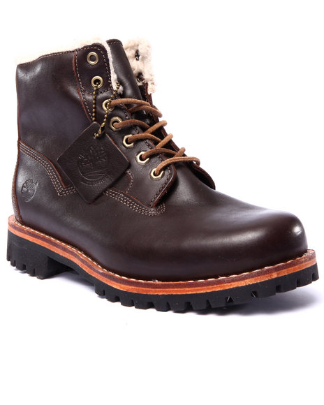 Timberland - Men Brown Timberland Heritage Ltd Rugged Bomber Reboot Boots