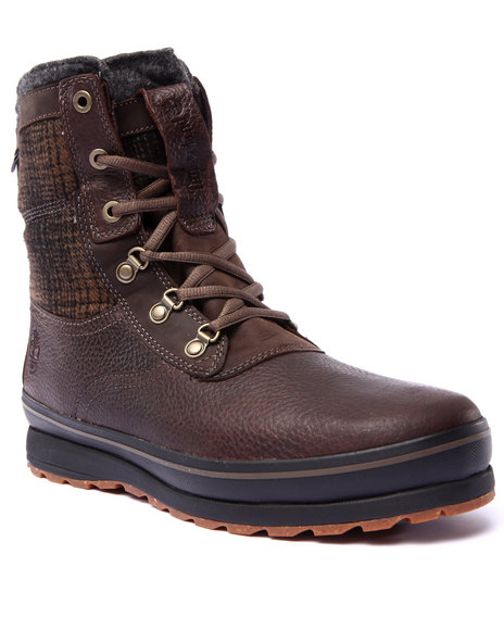 Timberland - Men Brown Earthkeepers Schazzberg High Waterproof Insulated Boots - $100.99