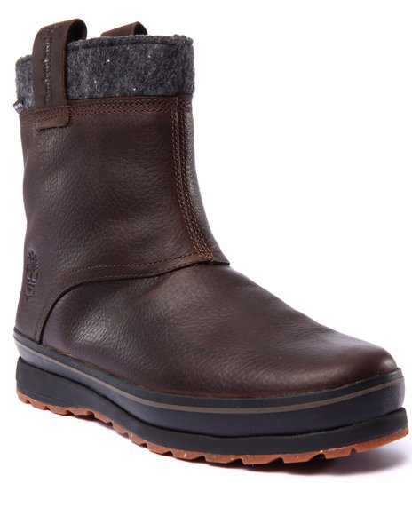 Timberland - Men Brown Earthkeepers Schazzberg Pull On Waterproof Insulated Boots