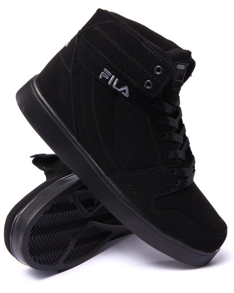 Fila - Men Black G300 Figueroa Hightop Sneaker