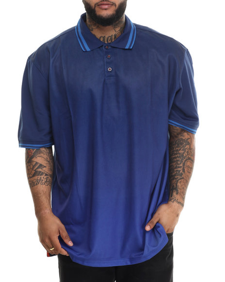Rocawear - Men Dark Blue Streets Is Watching S/S Polo (B&T)