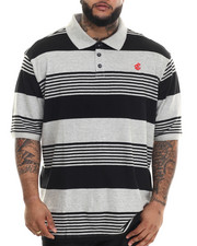 Rocawear - Marcy Stripe S/S Polo (B&T)
