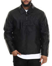 Leather Jackets - Dean Faux Leather Jacket