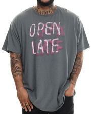 T-Shirts - Open Late Vintage S/S Tee