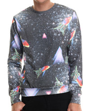 Sweatshirts & Sweaters - Retro Space Crewneck Sweatshirt