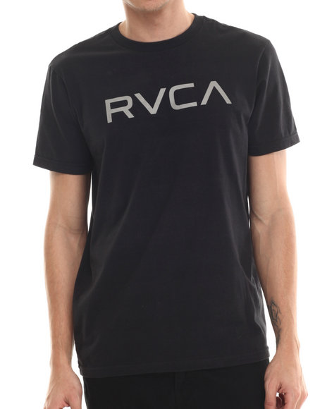 Rvca - Men Black Big Rvca Tee