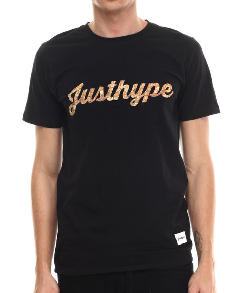Justhype Black T-Shirts