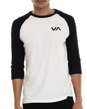 The Skate Shop - V A 3/4 Sleeve Baseball Raglan Tee