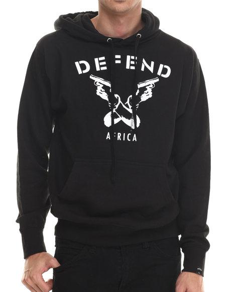 Defend Paris - Men Black Defend Paris Hoodie
