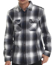 The Skate Shop - Kraken Flannel L/S Button-down