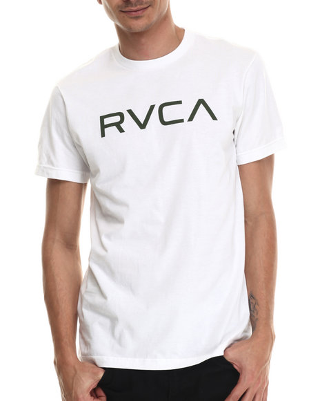 Rvca - Men White Big Rvca Tee