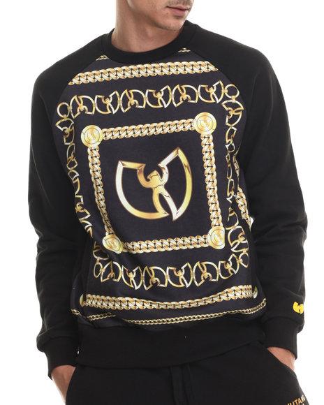 Wu-Tang Limited - Men Black Wu Chainz Sweatshirt
