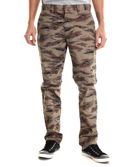 Ur-ID 213524 RVCA - Men Camo Weekender Twill Chino Pants