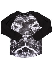 Boys - LION SHOCKER RAGLAN (8-20)