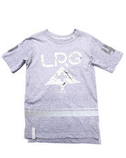 LRG - MARBLE TREE SLIM ELONGATED TEE (4-7)