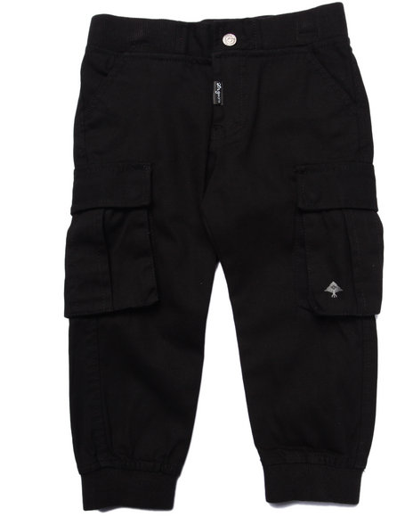 Lrg - Boys Black Lifted Recon Cargo Joggers (2T-4T)